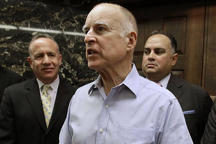 Brown seeks court permission to send California inmates out