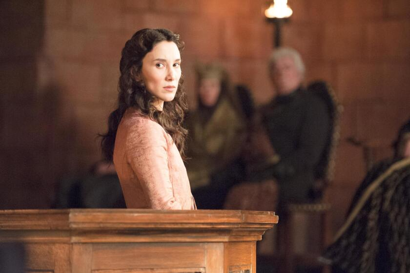 GAME OF THRONES episode 36 (season 4, episode 6): Sibel Kekilli. photo: Helen Sloan/courtesy of HBO