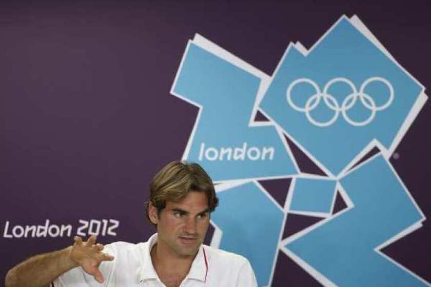 London Olympics: Roger Federer on why he won't be Swiss flag bearer