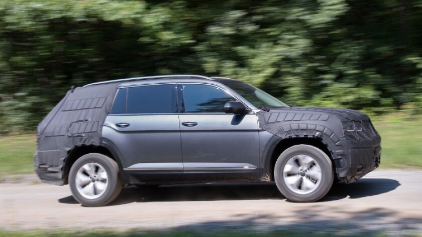 El nuevo Volkswagen.