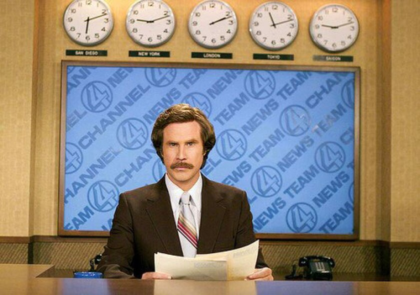 """Will Ferrell in the movie """"Anchorman: The Legend of Ron Burgundy."""""""