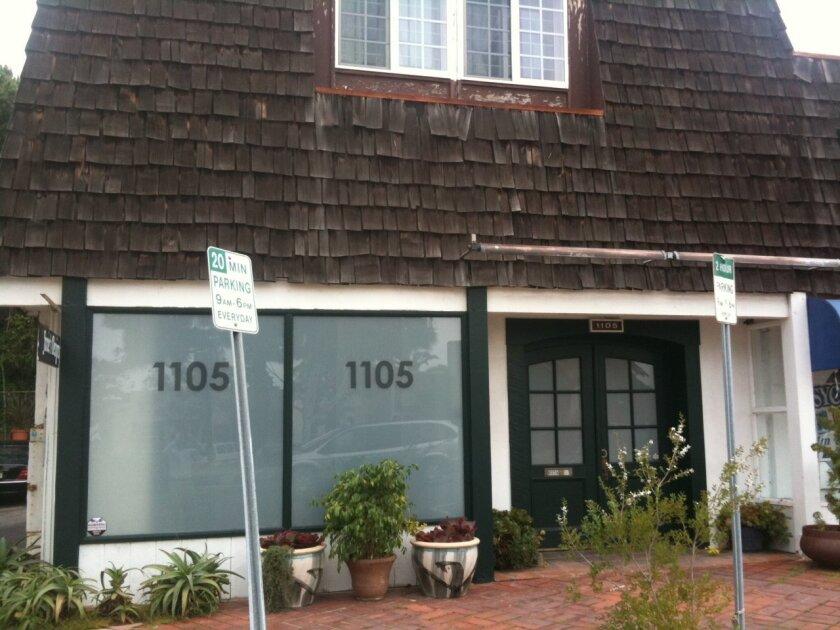 The 1105 Cooperative medical marijuana dispensary at 1105 Camino del Mar on Wednesday, April 6.