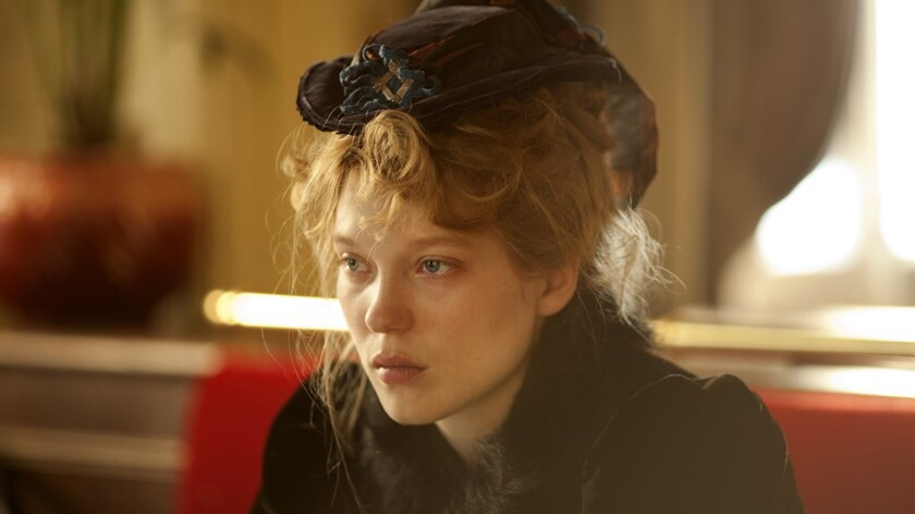 """Léa Seydoux in the French film """"Diary of a Chambermaid."""""""
