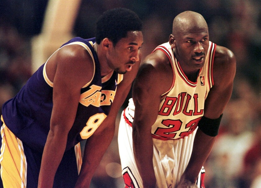 lowest price 514df 05c48 Michael Jordan says he could've beaten any player but Kobe ...