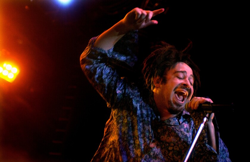 Counting Crows lead singer Adam Duritz will tour with Matchbox Twenty. (Wally Skalij/Los Angeles Times)