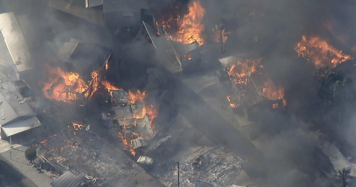 3 kematian terhubung dengan kebakaran yang melanda bagian Selatan California