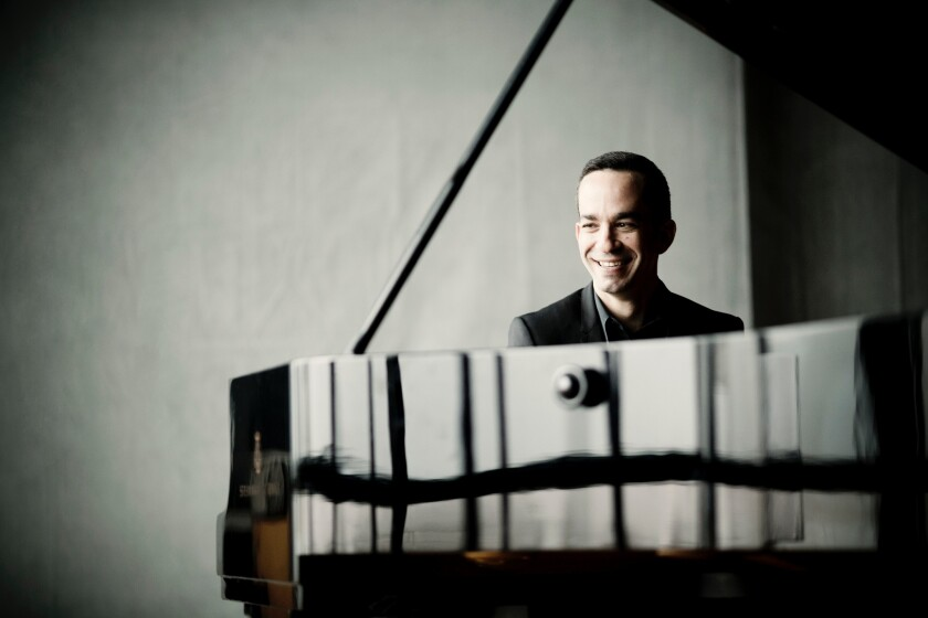 The May 16 and 17 performances featuring pianist Inon Barnatan are among the 16 remaining April and May San Diego Symphony concerts that were canceled on Wednesday.