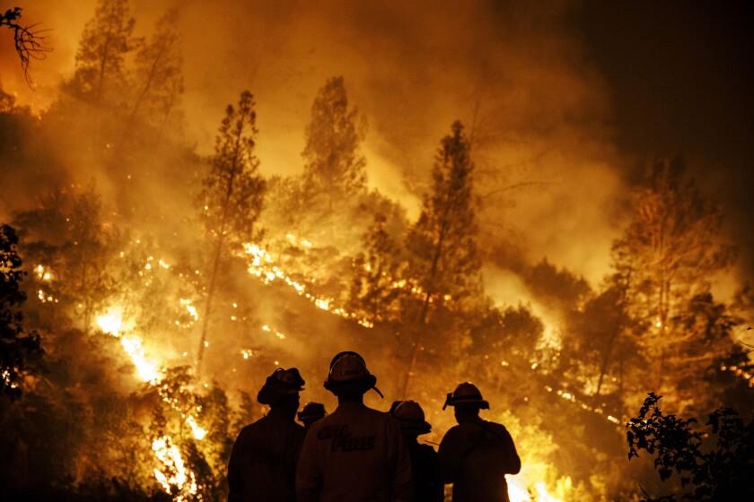 2018 Mendocino complex fire