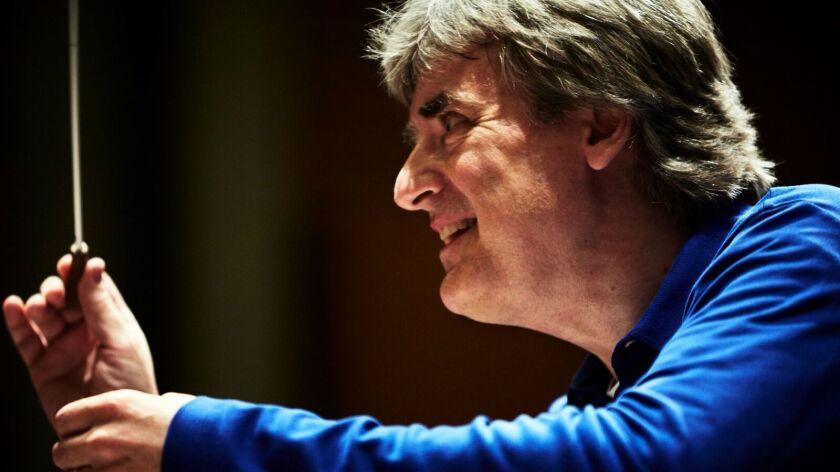 Guest conductor Thomas Dausgaard.