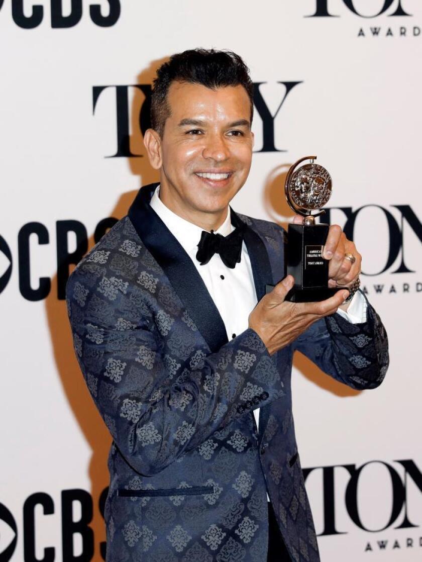 El colombiano Sergio Trujillo gana el Tony a la mejor coreografía