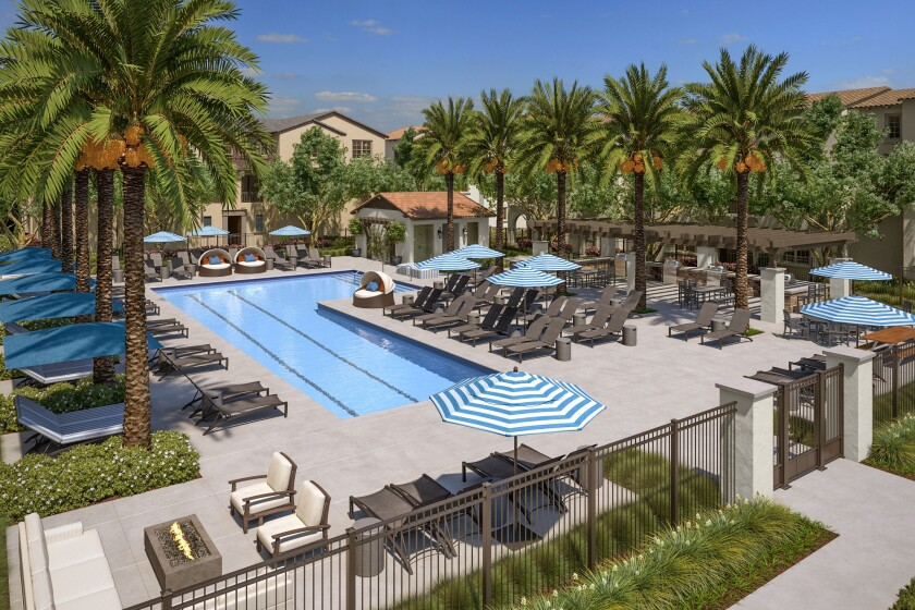 Oct. 19 will also be opening day for The Bungalow, the San Marcos community's private resort-style recreation area for exclusive use by residents of Latitude and Skyhaus.