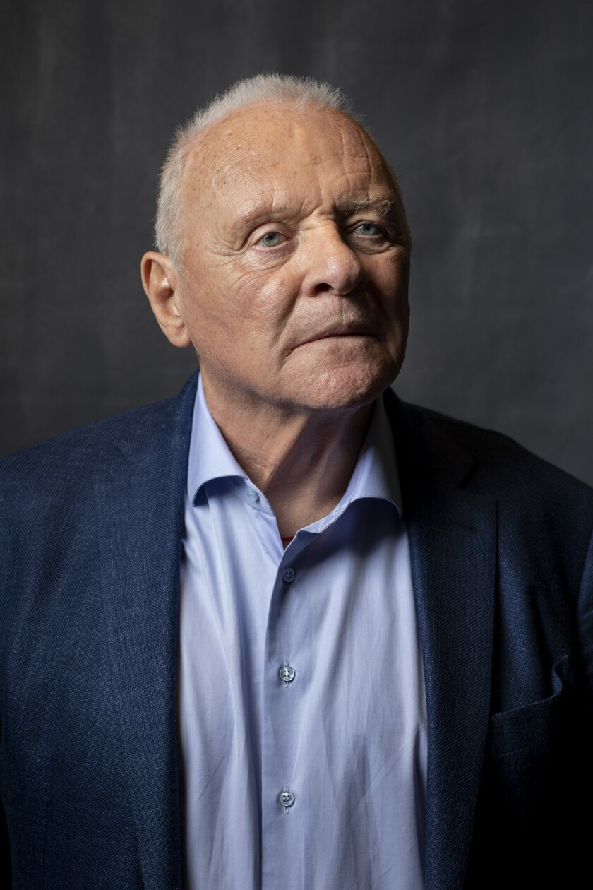 "Anthony Hopkins is nominated in the supporting actor category for his role in ""The Two Popes."""