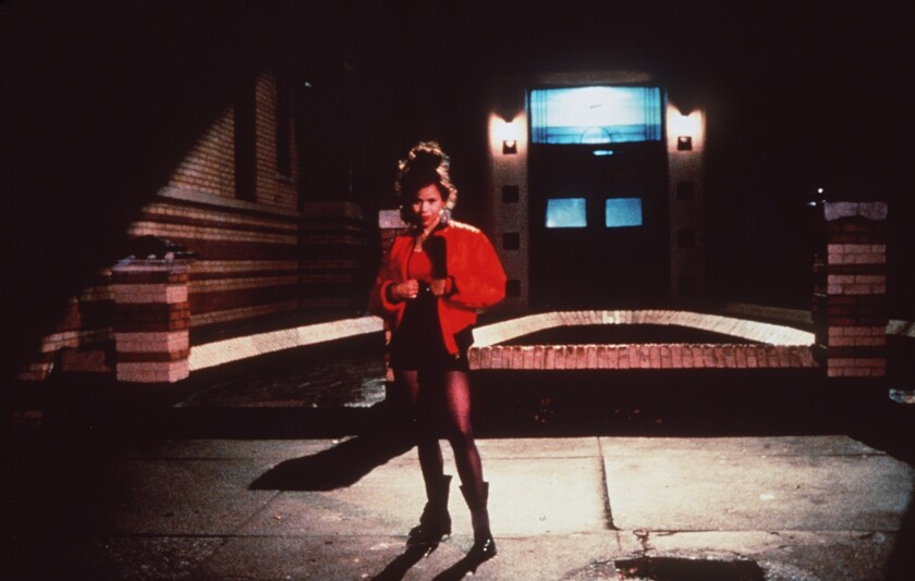 """Night on Earth,"" a film by Jim Jarmusch: Rosie Perez in New York."