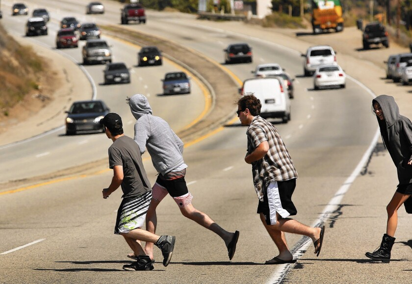 Accidents pile up on the PCH in Malibu