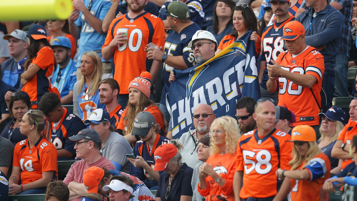 Chargers vs Broncos 11/18/18