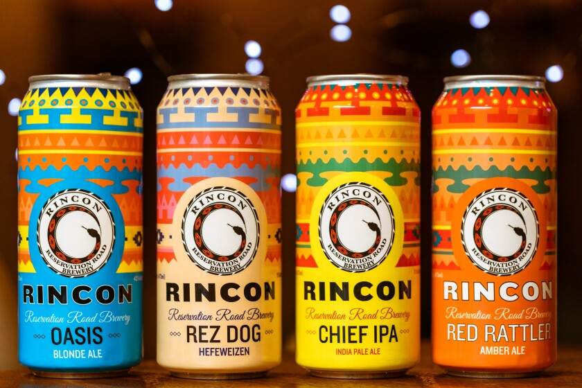 The newly rebranded Rincon Reservation Road Brewery offers four new craft beers.