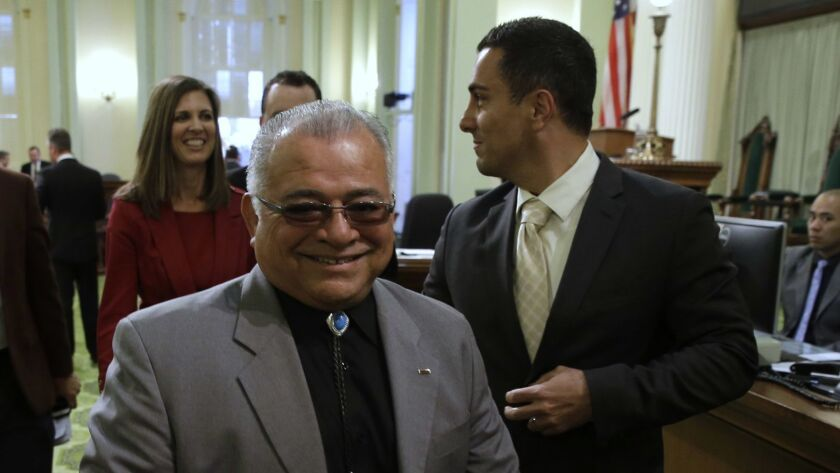 Assemblyman Rocky Chavez, R-Oceanside, leaves the state Assembly in March 2015. A new poll shows him in the lead in the race for a San Diego-area House district.