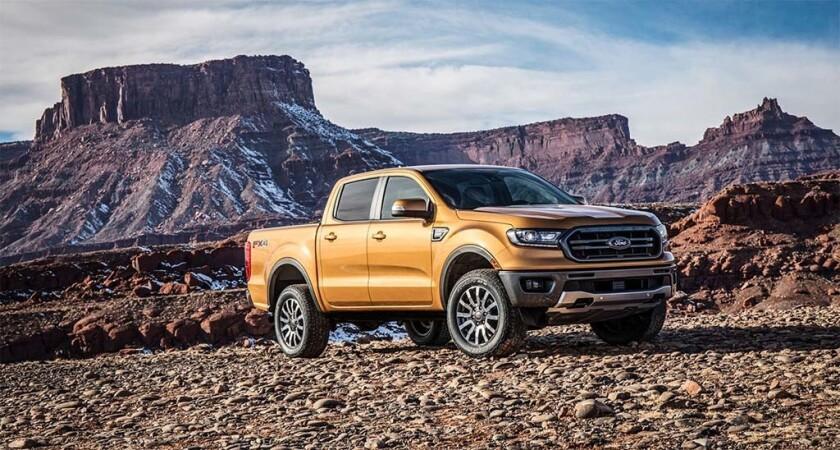 La camioneta Ranger del 2019