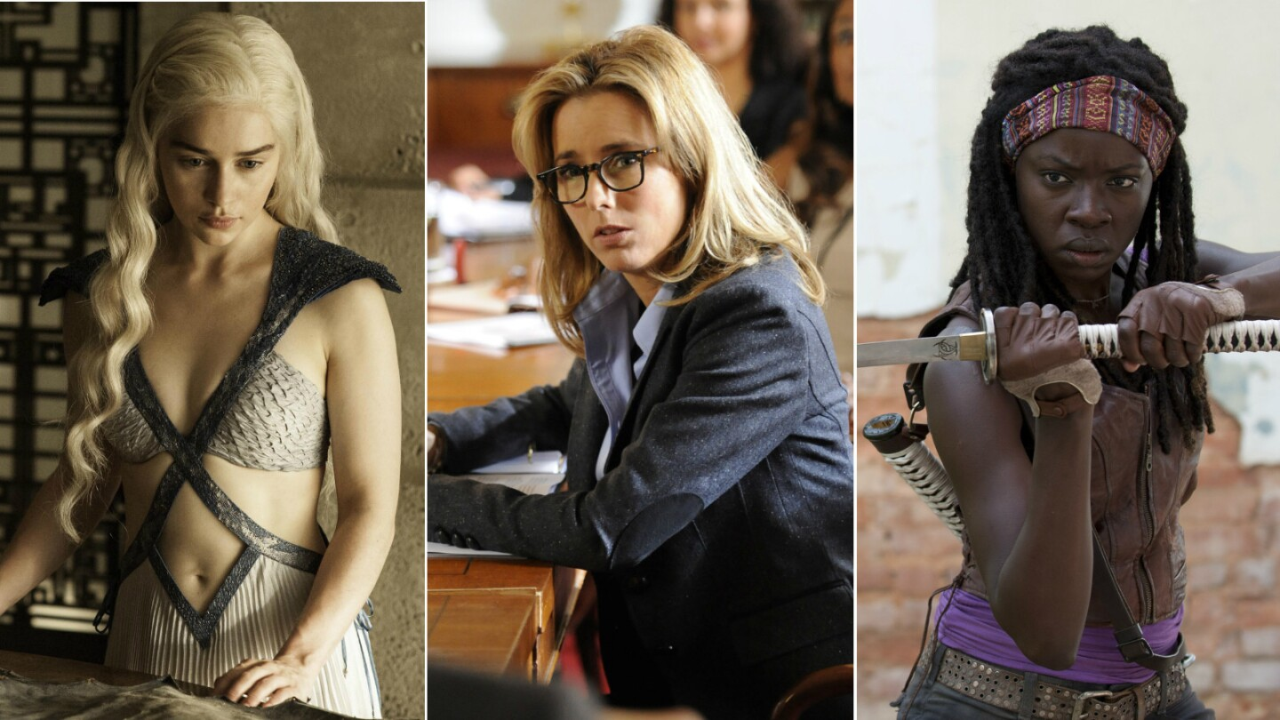 A gallery of the strong female characters in recent television.