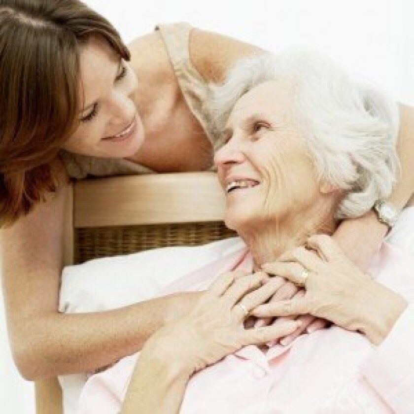 As the population ages, health care for baby boomers will likely fall into the hands of family members and loved ones. Photo Credit: Stockbyte, Photos.com