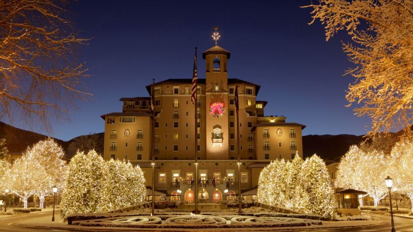 COLORADO SPRINGS, CO - More than one million twinkling lights greet holiday visitors to The Broadmoo