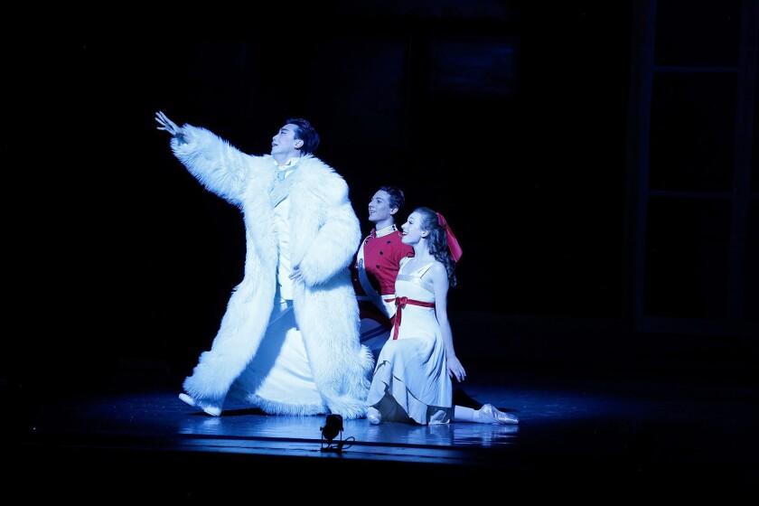A scene from Los Angeles Ballet's The Nutcracker