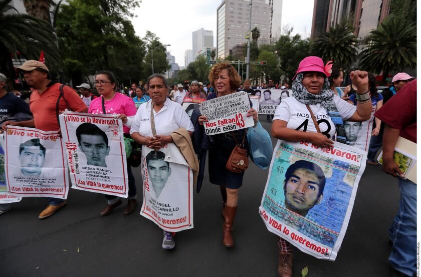 Silencio por Ayotzinapa