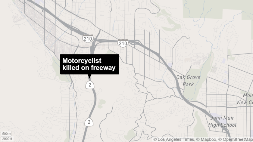 California Highway Patrol Sgt. Becky Lynch said 24-year-old Jake Linus Peters was seen by witnesses walking eastbound on the Glendale (2) Freeway about 9:30 p.m. on Wednesday.