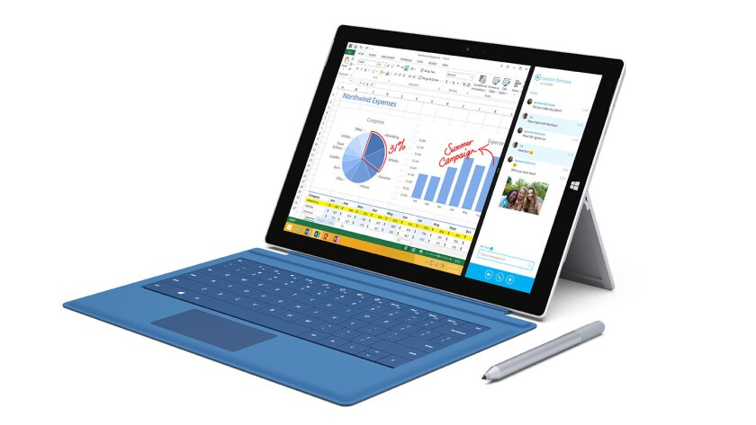 Microsoft has designed the Surface Pro 3 to replace consumers' tablets and laptops.