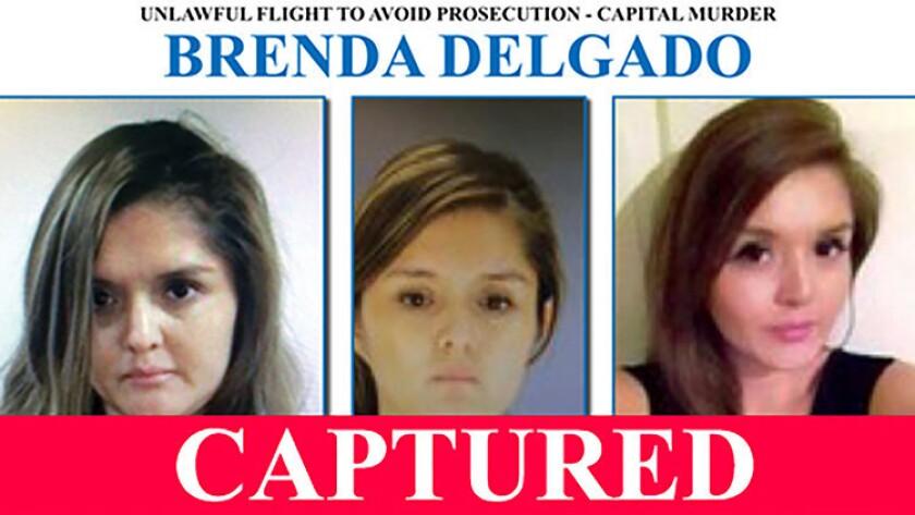 La mexicana Brenda Delgado, incluida en la lista de los 10 fugitivos más buscados de EE.UU., fue extraditada a ese país para que enfrente a la justicia por el asesinato de una dentista, informó hoy la embajada de EE.UU. en este país.