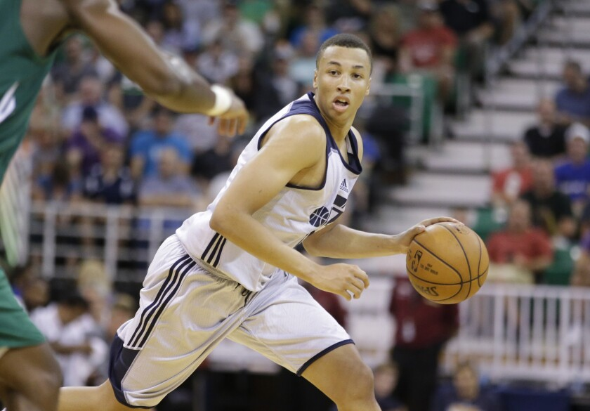 Utah S Dante Exum Tears Acl While Playing With Australian