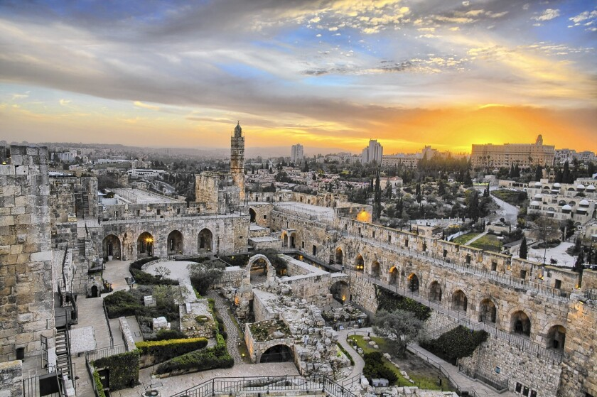 """A scene from the Imax movie """"Jerusalem 3D."""""""