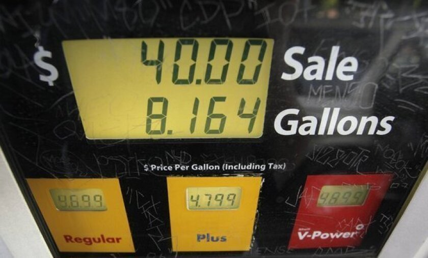 California gas on track to average more than $4 a gallon for 2012