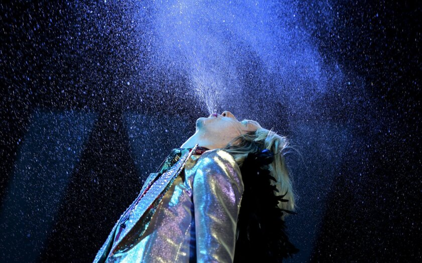 Karen O of the Yeah Yeah Yeahs made a big splash in April at the Coachella festival in Indio. She and her New York-based band will perform as part of this summer's Del Mar Concert Series at the Del Mar Racetrack.