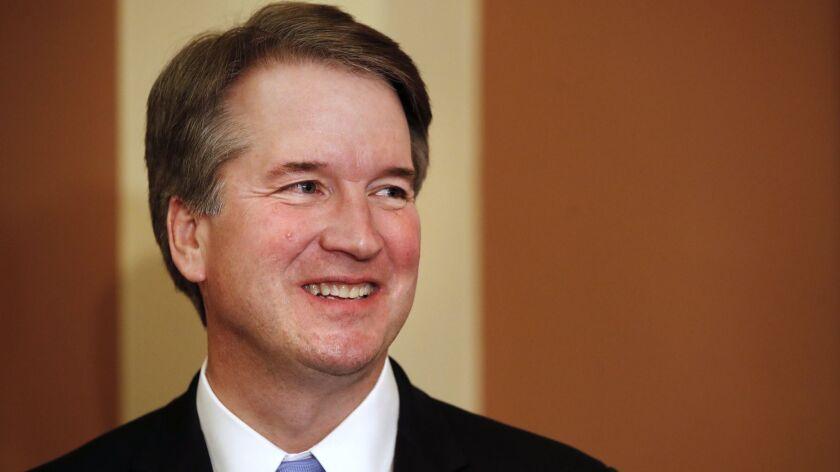 Supreme Court Justice nominee Brett Kavanaugh.