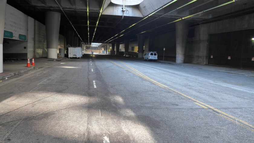 Lower Grand Avenue will be the site for a concert presented by Dog Star Orchestra on Monday.