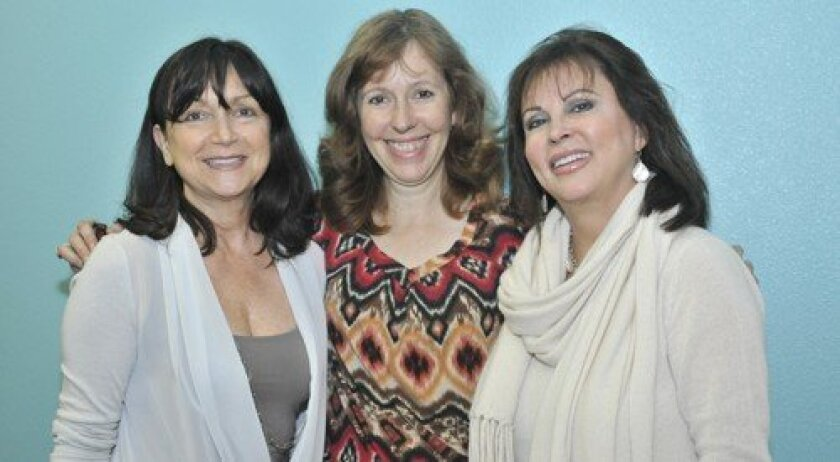 Membership coordinator Margaret Piglovski, Associate Director Veronica Baker, founder and CEO Joani Wafer