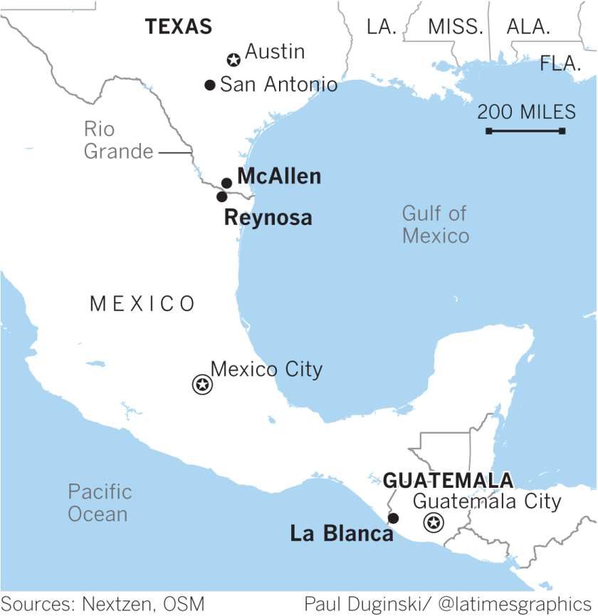 Death at the border: 4 from Guatemala, 3 of them children ...