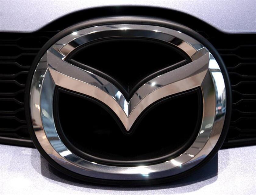 Logo de Mazda. EFE/Archivo