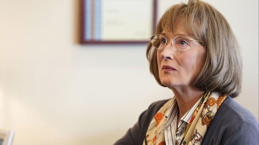 "Meryl Streep in season 2 of ""Big Little Lies."" photo: Jennifer Clasen/HBO"