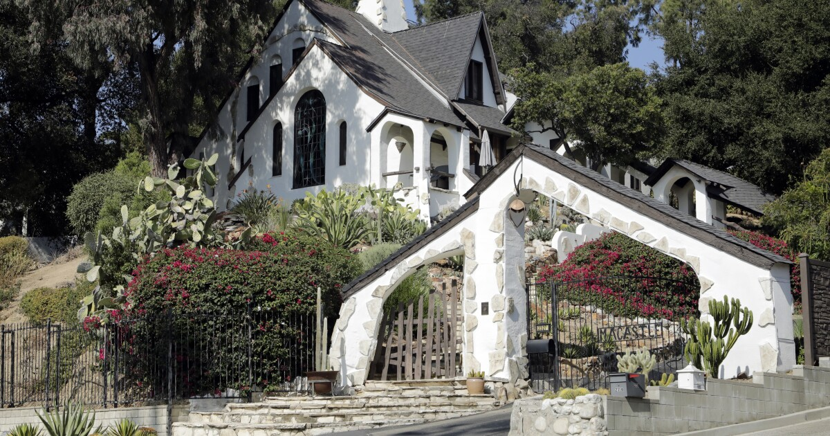 A self-drive tour of Los Angeles storybook houses