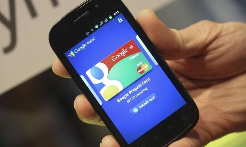 The Google Wallet app is used for mobile payments.