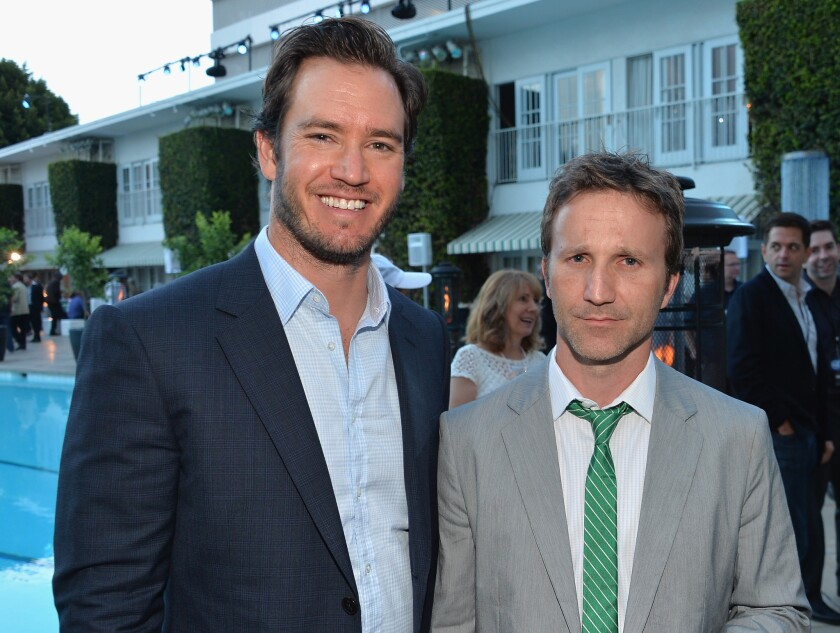 """Mark-Paul Gosselaar and Breckin Meyer costar on """"Franklin & Bash,"""" and Meyer bashed Gossellaar's old """"Saved By the Bell"""" costar Dustin Diamond."""