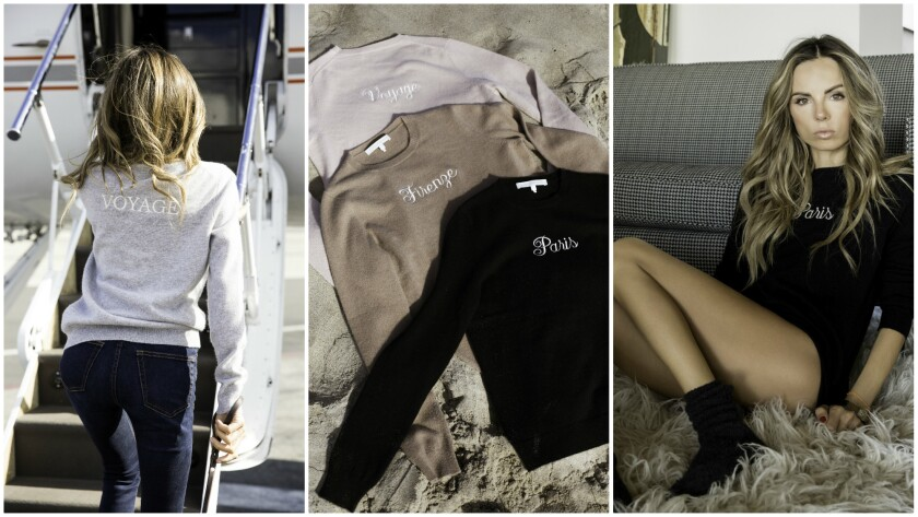 Erica Pelosini Naked Cashmere Travel Collection