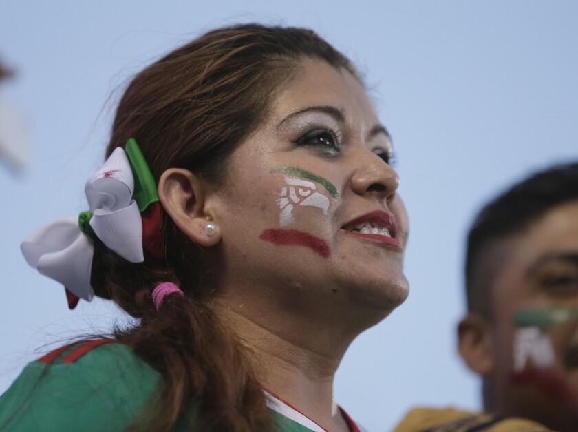 APphoto_Gold Cup Trinidad Tobago Mexico Soccer