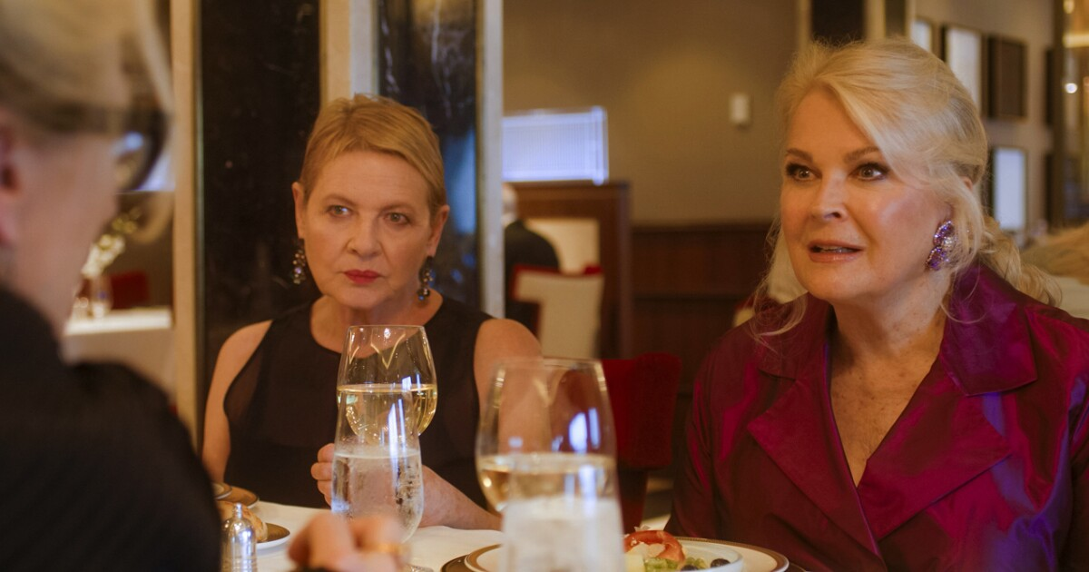 Candice Bergen squares off against Meryl Streep, and, boy, was it nerve-racking