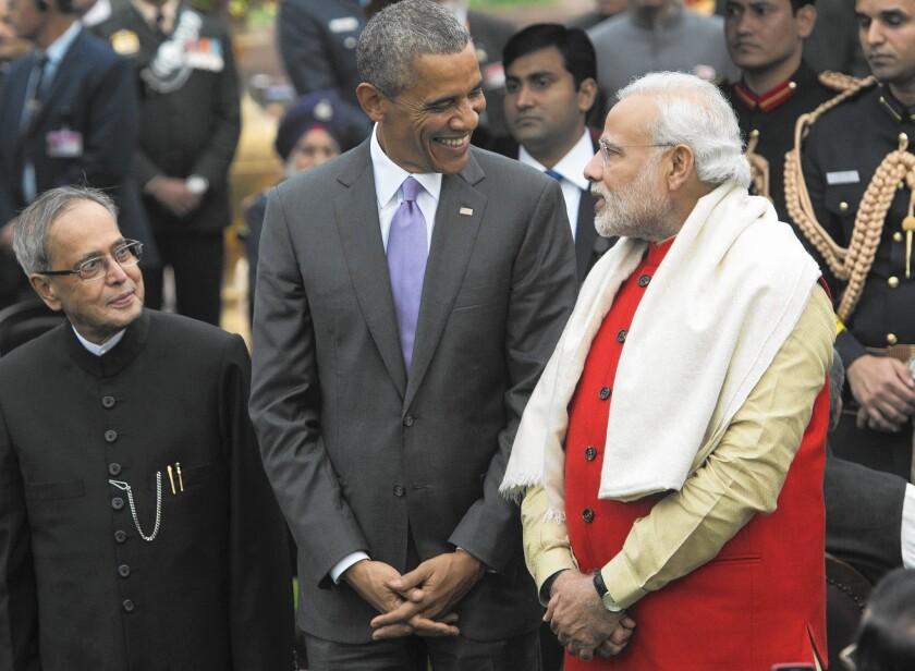Obama in New Delhi