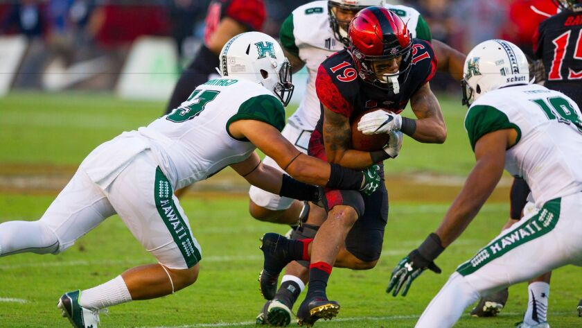 College football: Hawaii at Aztecs