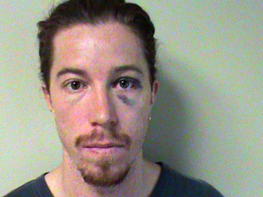Shaun White in custody.