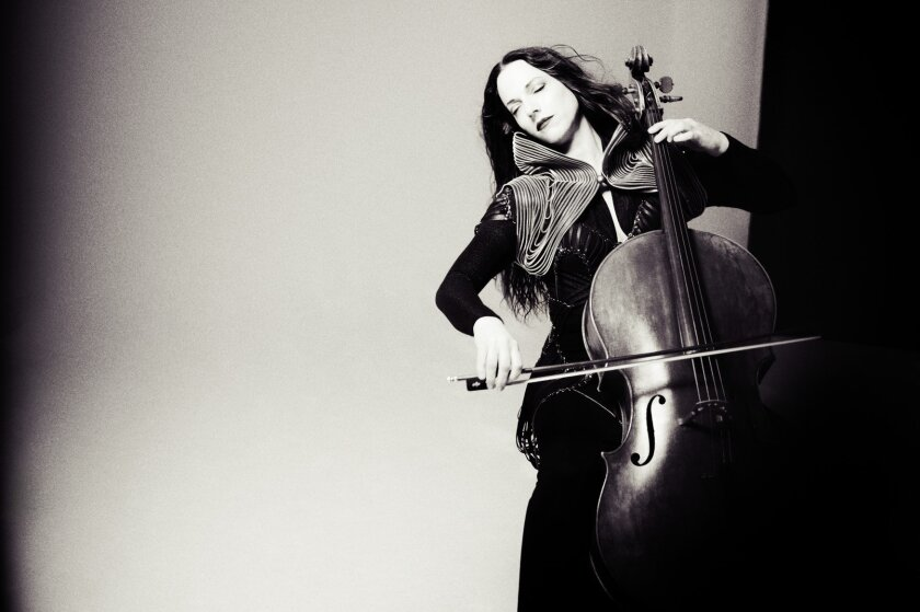Cellist Maya Beiser last performed with the orchestra in 2007.